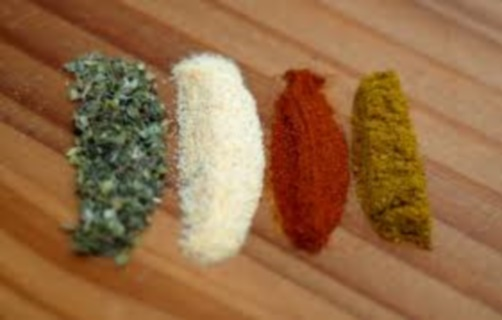 FOUR POWERFUL SPICES