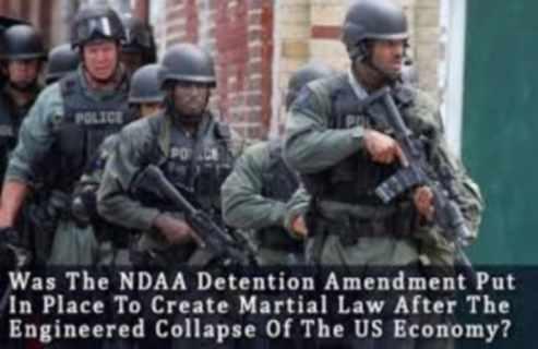 Prepare For Martial Law