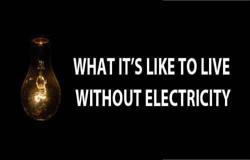 essay life without electricity Article and essay on life without electricity, useful for debate, discussion, public speaking, essay writing, short feature and awareness.
