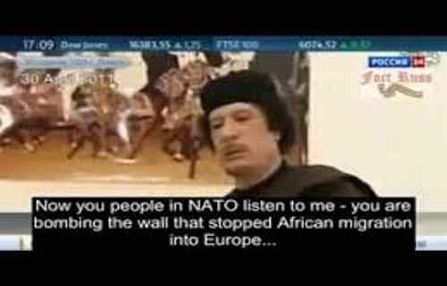 Gaddafi's Prophecy